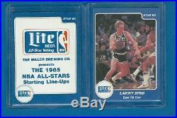 1985 Star Lite Beer All Star Game Complete set (13 cards) Michael Jordan BGS 9.0