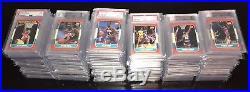 1986-87 Fleer Basketball Almost Complete Set 131/132 ALL GRADED PSA/BGS 9 Mint