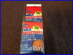 1986/87 Fleer Basketball Set Less Jordan, With All Stickers