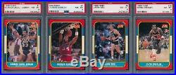 1986 Fleer Basketball Complete Set ALL GRADED PSA 8 Michael Jordan Rookie Card