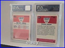 1986 Fleer Basketball Complete Set withStickers ALL PSA 8 (NQ) 143/143 MJ