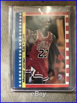 1987-88 Complete Fleer Basketball Set With All-stars 1-11 2M. Jordans NRMT! NICE