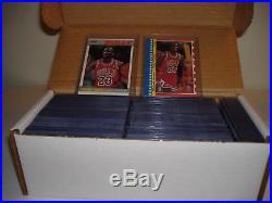 1987-88 Complete Fleer Basketball Set with Stickers Jordan All in Toploaders