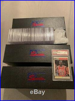 1987-88 Fleer Basketball Complete Set / All Psa Graded 70 Psa 10 & 62 Psa 9 Nq