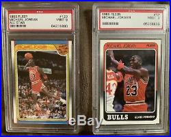 1988-89 Complete Set ALL KEY CARDS PSA-9 Quality Collection Break (1988)