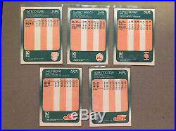 1988-89 Fleer Basketball Complete Set & Stickers All NM-MT High Quality