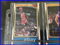 1988 Fleer Basketball All Star Full Set Michael Jordan Vintage 120-131 12 CARDS