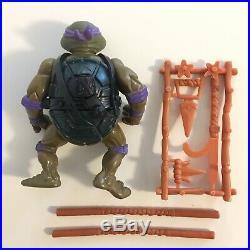 1988 TMNT Soft Head Ninja Turtles Set Lot All Four 4 Original Figures COMPLETE