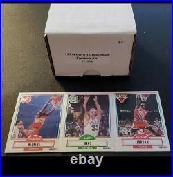 1989-90 FLEER BASKETBALL COMPLETE SET Jordan is CENTERED All NRMT Plus +