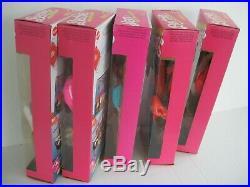 1989 Barbie And The All Stars Complete Set Barbie Ken Teresa Midge Christie New