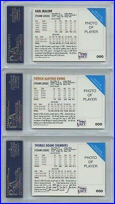 1991-92 Pro Set Prototypes Complete SET with ALL Cards PSA 9 MINT Michael Jordan