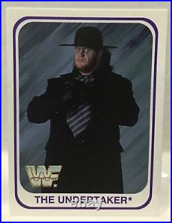 1991 Merlin Wrestling Complete 150 Set Includes All 8 The Undertaker Rookie WWE