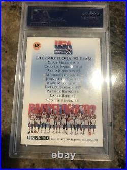 1991 Skybox DREAM TEAM USA All Set Psa 10 Michael Jordan Magic Bird Pippen