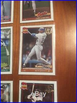 1991 Topps Desert Shield Baseball Complete Set (ALL 792 Cards) CHIPPER JONES RC
