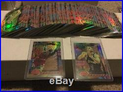 1993/94 Finest Basketball Refractor Starter Set of 205 All Different