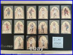 1993-94 Upper Deck Se Die Cut All-stars East/west Complete Set Of 30 Shaq Penny
