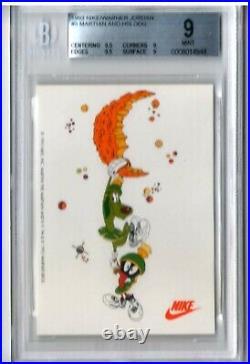 1993 NIKE/WARNER JORDAN 6 MINI POSTER CARDS AD 1984 DRAFT ALL STAR HOF aerospace