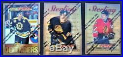 1995-96 Topps Finest Complete Set Includes All Gold, Silver And Bronze Cards
