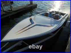 1995 Ultra Custom 18 Jet Boat 454 Bbc Dominator Full Set Back Pump All Original