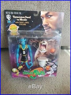 1996 Space Jam Toys/Michael Jordan/Complete Set of 10/All new in original pkg