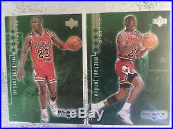 1998-99 Michael Jordan Black Diamond Quadruple Diamond COMPLETE SET ALL #/150