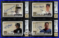 1999 Ud Century Epic Signatures Gold Autograph Complete Set Of (32) All Bgs /100