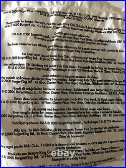 2000 Burger King POKEMON Toys Complete Set Of all 57 Sealed Original Box noVHS