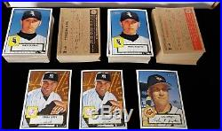 2001 Topps Heritage Baseball MASTER SET 487 cards all SP SHORT PRINTS included