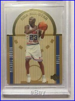 2003-04 Upper Deck Die Cut NBA All Star Michael Jordan SE1-BGS 9.5