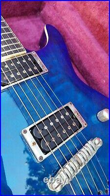 2003 Ibanez SZ520QM set neck electric guitar all original, recent set up done