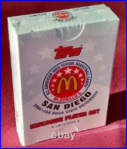 2006 Topps McDonald's All American High School sealed mint set with Kevin Durant