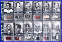 2008-09 Itg Bleu Blanc Et Rouge Captains Set (12) All Out Of /9