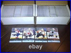 2008 09 UPPER DECK COMPLETE SET SERIES 1 + 2 (1-500) with ALL 100 YOUNG GUNS
