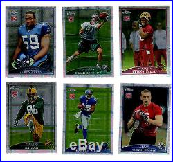2009 Topps Chrome Football Xfractor Parallel Set 1-220-All Rookies M. STAFFORD