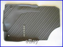 2010 Acura Rdx Gray Rubber All Weather Season Floor Mats Oem 09 10 11 12 Set #1