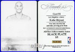 2013-14 Panini Flawless All-Star Achievements Kobe Bryant RAINBOW SET 1/1