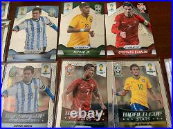 2014 Panini Prizm World Cup Master Set 411 Cards Base + All Inserts