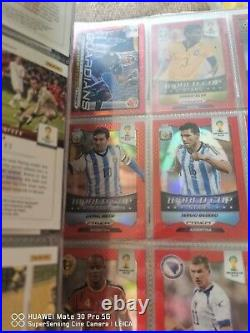 2014 Panini World Cup Red Prizm COMPLETE SET 411 cards BASE ALL INSERTS Amazing