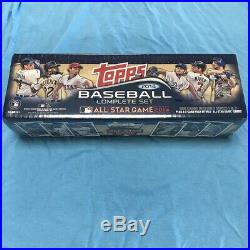 2014 Topps Baseball EXCLUSIVE All-STAR 665 Card Factory Set-Special Jeter, Trout+