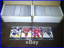 2015 16 Upper Deck Complete Set (1-500) With All 100 Young Guns