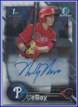 2016 Bowman Chrome Draft Master Set with All Autographs & Insert Sets