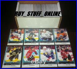 2017 18 UPPER DECK COMPLETE SET SERIES 1 (1-250) WITH ALL 50 YOUNG GUNS SPs NRMT