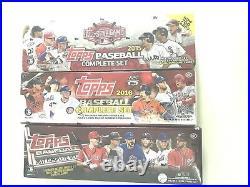 2017& 2016 Hobby & 2015 All-star Topps Baseball Factory Set Combo