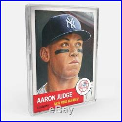 2018 2019 Topps Living Complete 200 Set Aaron Judge Mike Trout + All HOF + RC