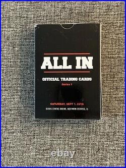 2018 All In Trading Card Set 1-36 Omega Page Britt Baker MJF Bucks Cody AEW RC