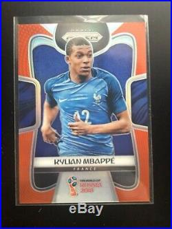 2018 Panini Prizm World Cup COMPLETE SET all 300 cards ORANGE variant Mbappe /65