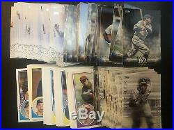 2018 Topps Update Complete Master Set 300 + All Inserts 485 cards Acuna Soto +++