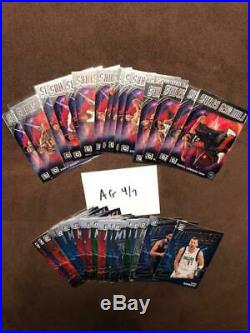 2019 20 Donruss Optic COMPLETE MASTER SET All 6 Insert Sets My House ZION MORANT