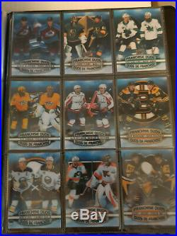2019-20 TIM HORTONS MASTER SET (234) With BINDER, ALL DUOS, CLEARS & HORTON RED SP