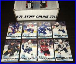 2019 20 UPPER DECK COMPLETE SET SERIES 1 (1-250) with ALL 50 YOUNG GUNS MINT